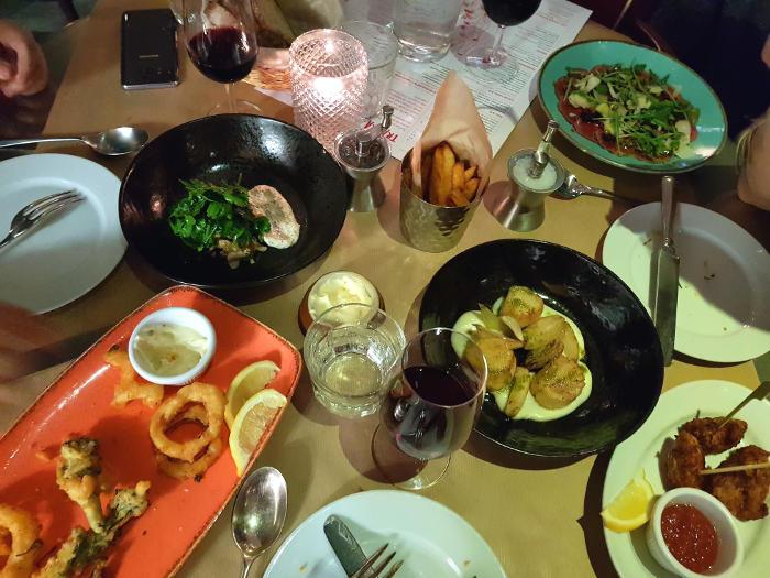 Review: TraTra @ Boundary Hotel, Shoreditch