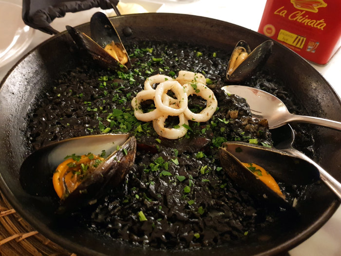 Brindisa Shoreditch arroz negro