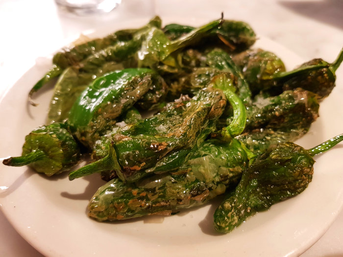 Brindisa Shoreditch padron peppers
