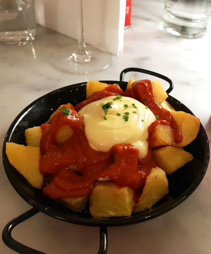 Brindisa Shoreditch patatas bravas