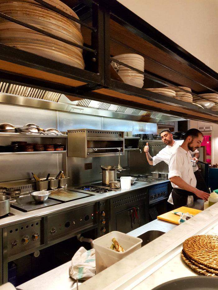 Brindisa Shoreditch chef posing