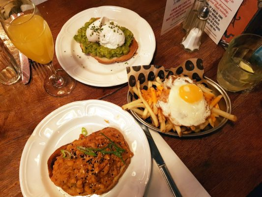 Review: Bottomless Brunch @ Bad Egg, Moorgate