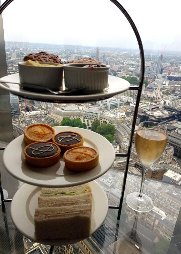 Review: Afternoon Tea – Vertigo42, London