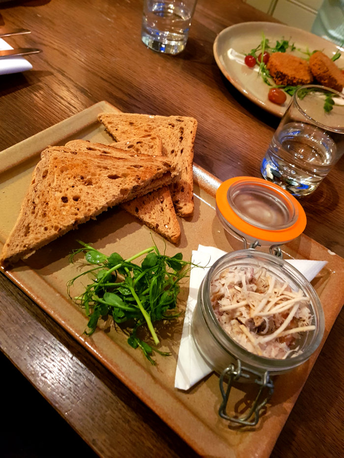 The Victoria Holkham potted mackerel