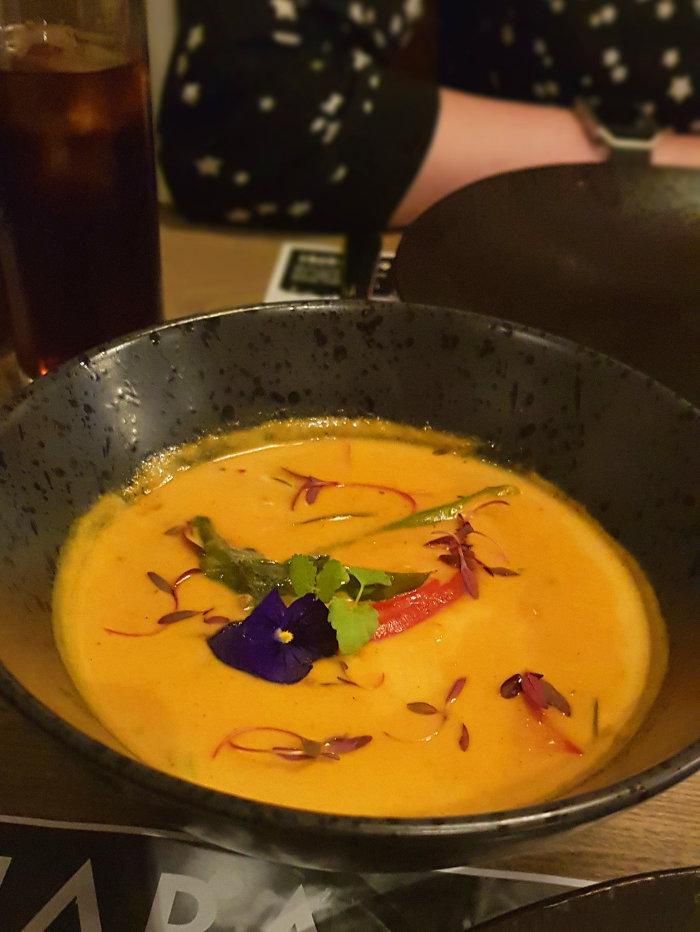 Dhaba 15 sri lankan prawn curry